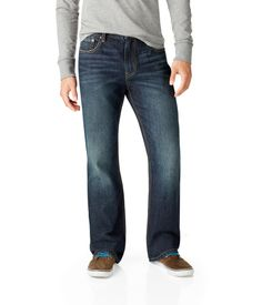 Driggs Slim Boot Dark Wash Jean - Aeropostale (Arrived in our store July 9, 2013)