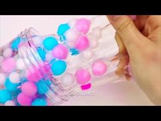 Pom Pom Slime ! Clear Slime ! Satisfying Slime ASMR Video Compilation ! - YouTube