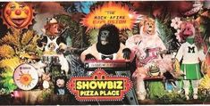 Show Biz Pizza!  I had my 6th birthday party here!