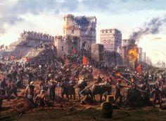 Η Βυζαντινή Αυτοκρατορία μόνο κατ' όνομα υπήρχε τις παραμονές της Άλωσης. Ήταν περιορισμένη, κυρίως, στην περιοχή γύρω από την Κωνσταντινούπολη και σε κάποιες σκόρπιες περιοχές...