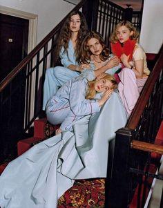 Vogue, May 2011  Editorial: Chateau California  Photographer: Bruce Weber  Stylist: Grace Coddington  Models: Natalia Vodianova