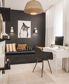 Simple Bedroom Design, Girl Bedroom Designs, Home Room Design, Kids Room Design, Boys Room Decor, Bedroom Decor, Big Boy Bedrooms, Modern Teen Bedrooms, Student Room