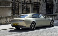 """The stunning and luxurious super saloon revives the period Lagonda ethos of being """"the finest of fast cars"""". Discover more at http://www.astonmartin.com/lagonda"""
