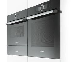 So ausgezeichnet wurden Sie noch nie bekocht. Kitchen Interior, Kitchen Design, Kitchen Ideas, Bosch Appliances, Kitchen Appliances, Modern Architecture House, Industrial Design, Locker Storage, Kitchens