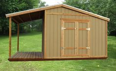 rustic sheds with porch | Storage Shed Plans With Porch – Build a Garden Storage Shed