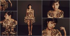 3D Printed Dress of Pia Hinze Features in Muuse x Vogue Awards ...