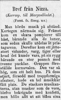 verldsutställning, 22.04.1884 Morgonbladet no 93 - Sanomalehdet - Digitoidut aineistot - Kansalliskirjasto