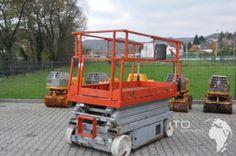 Arbeitsbühne BJ 2004 günstig nur 1.200,- € netto kaufen da wo es  günstig ist http://www.ito-germany.de/baumaschinen/angebote/arbeitsbuehnen-kaufen-verkaufen/scherenbuehne-skyjack-js4620-gebraucht/ #manlift #skyjack #arbeitsbühne #hausbau #landtechnik #landmaschinen #Auktion #verteigerung #bauma #messe #machineytrader #machinerypark Bilder Baumaschinen vor der Auktion und onlinen versteigerung