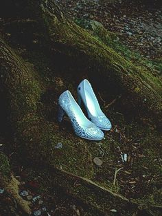 It was in the woods where I found those beautiful glass slippers. They were laying by the river in a way that made me feel as though I was meant to find them.