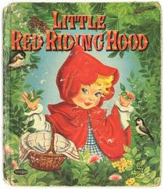 Little Red Riding Hood vintage Whitman Tell-a-Tale book