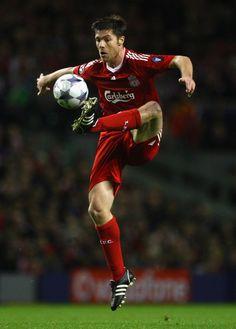 No 10, Xabi Alonso, the pass master, Liverpool