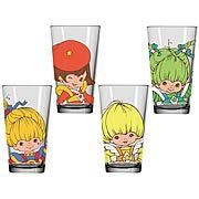 Rainbow Brite tumblers!!!   I'd love to find these.