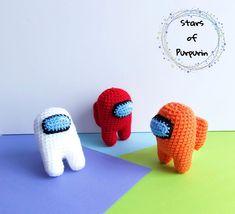Among Us inspiración muñeco amigurumi Elige color   Etsy