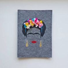 Frida Kahlo iPad & Macbook Case  iPad Sleeve  iPad Case