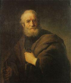 Рембрандт. Апостол Пётр. 1632. Стокгольм. Национальный музей Швеции.