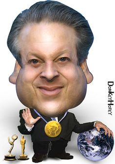 Al Gore  (By DonkeyHotey) FOLLOW THIS BOARD FOR GREAT CARICATURES OR ANY OF OUR OTHER CARICATURE BOARDS. WE HAVE A FEW SEPERATED BY THINGS LIKE ACTORS, MUSICIANS, POLITICS. SPORTS AND MORE...CHECK 'EM OUT!! Anthony Contorno Sr