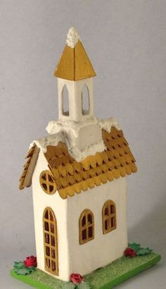With Glue and Glitter : Tim Holtz Village Brownstone - New Die as a Christmas…