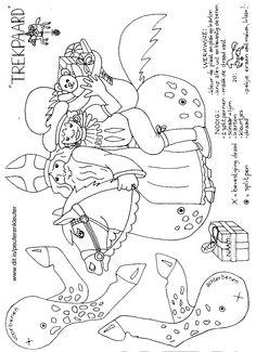 Kleurplaat Kerst Blond Sinterklaas Sint Amp Piet Pinterest Sinterklaas