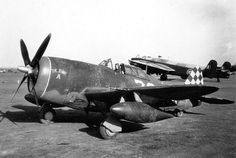 P-47 of the 325th Fighter Group Date 1943 ~ BFD