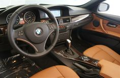 2011 BMW 3 Series 328i interior: saddle brown leather Bmw Convertible, Brown Interior, Bmw X3, Bmw 3 Series, Bmw Cars, My Ride, Car Accessories, Luxury Cars, Autos