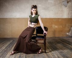 Elven Maxi Skirt combination for festival wear pixie clothing cyberpunk women streetwear and dark mori Festival Wear, Festival Fashion, Jedi Outfit, Apocalyptic Clothing, Pixie Outfit, Cyberpunk Clothes, Dystopian Fashion, Steampunk Clothing, Woman Fashion