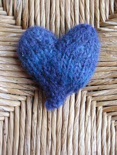 little blue heart