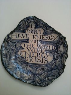 WORLD WIDE ENERGY CRISIS