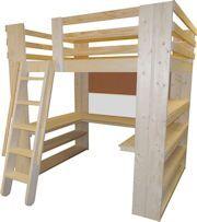 allinone sleep study u0026 storage loft bed twin full queen and