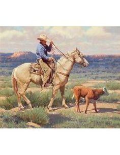 Tony Eubanks Go Find Mama, 2013  #shopsporty #cowboy #artwork #painting http://amzn.to/1KhDyqq
