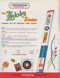 Withington Locksley series archery