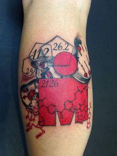 ... Tattoo Ironman Triathlon Helix Dna Ironman Tattoo Triathlon M Dots