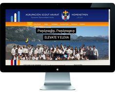 Agrupación Scout Ararat | diseño web + contenidos + diseño gráfico + creatividad. ( junto a equipo Nur Media). www.homenetmen.org.ar/ararat