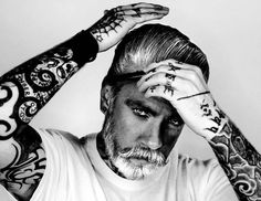 Tattoos, Beards and Freckles – 38 portraits by Mr Elbank | Ufunk.
