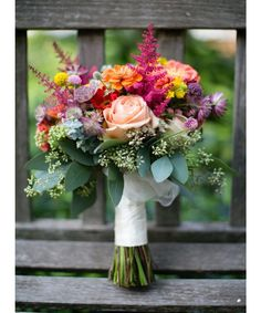 11 Beautiful Bouquets for a Fall Wedding. - Dujour