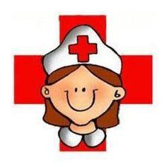 Dibujo De Enfermera Con Cruz Roja Para Imprimir Nurse Clip Art Red Cross Nurse Nurse Party