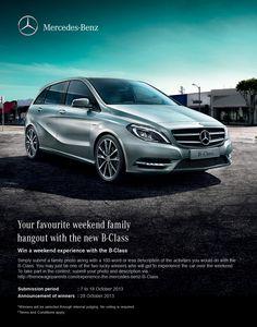 Experience The Mercedes Benz B Class
