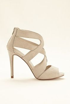 Thick Strappy Sandals at David's Bridal