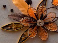 *QUILLING ~ autumn flowers