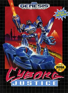 Cyborg Justice - side-scrolling beat 'em up video game developed by Novotrade and released in 1993 for the Sega Mega Drive.