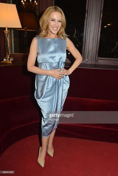 Kylie Minogue attends 'Les Grandes Filles' Special Show for the Get premium, high resolution news photos at Getty Images Kylie Minogue, Red Carpet Fashion, Singer, Dresses, Daughters, Vestidos, Singers, Dress, Gown