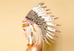 hat, indian, native, american, feathers, headdress - Wheretoget