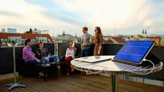 The Solartab Solar Charger is the Smartest, Sexiest Personal Solar Panel Yet!!