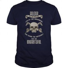 Welder Great Gift For Any Welding Fan - #hoodies #teespring. CHECK PRICE => https://www.sunfrog.com/Jobs/Welder-Great-Gift-For-Any-Welding-Fan-Navy-Blue-Guys.html?60505