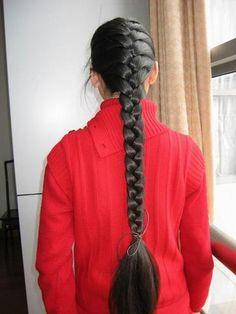 longhair indian - very long braids Beautiful Braids, Beautiful Long Hair, Indian Hairstyles, Bride Hairstyles, Lavender Hair Colors, Blonde Hair Black Girls, Indian Long Hair Braid, Front Hair Styles, Braid Out