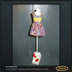 the torso with Barbie's dress on it and shoes
