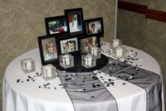 tables at wedding in honor of the close family or friends they lost.remembrance tables at wedding in honor of the close family or friends they lost. Wedding 2017, Wedding Tips, Fall Wedding, Wedding Planner, Our Wedding, Dream Wedding, Wedding Unique, Wedding Styles, Wedding Photos