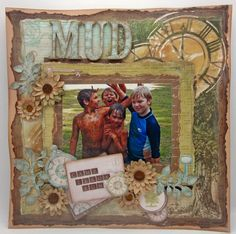Kaisercraft - Heirloom - Lori Williams Scrapbooking Layouts, Scrapbook Pages, Something To Remember, Shadow Box Frames, Daffodils, Handmade Cards, Card Stock, Card Making, Craft Ideas