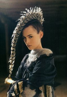 rock n roll hair style = pheasant feather mohawk