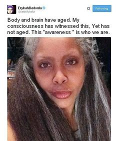 Afbeeldingsresultaat voor erykah badu grey hair