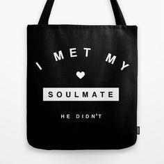 I met my #soulmate. He didn't #funny #bag #fashion